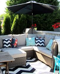 Decor & Tips Wicker Outdoor Furniture And Outdoor Seat Cushions