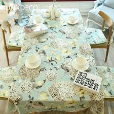 country style tablecloths tablecloth linen cotton table cover fabric french country style hydrangea flora garden party decoration country style tablecloths