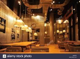 Industrial Loft Bar Style Stock Photo 160389063 Alamy