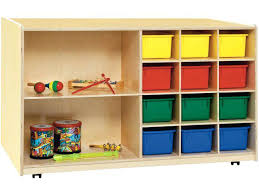 storage cubby double sided classroom storage w colored bins cubby storage unit ikea