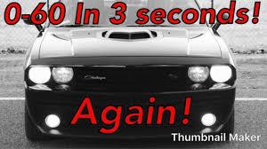 2014 Dodge Challenger R/T Shaker 0-60 in 3 seconds again? Teaser ...