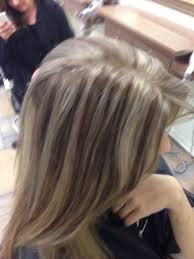 Icy Blond Corrective Color Highlight And