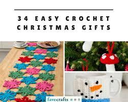 34 Easy Crochet Christmas Gifts