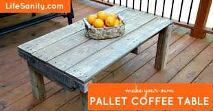 build own coffee table pallet coffee table build coffee table from pallets