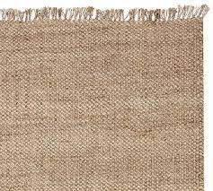 ethan jute rug with fringe swatch