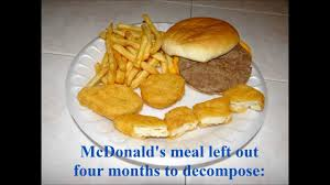 mcdonald s food after 2 years. In Mcdonald Food After Years