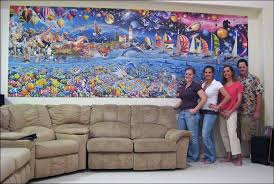 first to complete  on jigsaw puzzle wall art with the world s largest jigsaw puzzle first in the world to complete