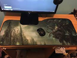 imagebought a new mousepad ended up being a lot bigger than i expected