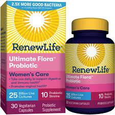 renew life women s probiotic ultimate flora probiotic women s care shelf le probiotic supplement