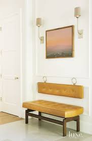 Contemporary Foyer Bench - luxury homes - minimalist style - Artemest