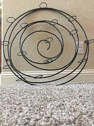 pottery barn spiral wrought iron votive