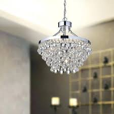crystal glass light luxury chandelier chrome contemporary and