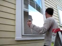 broken window pane replacement step 3