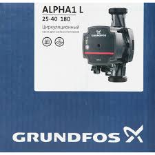 <b>Насос циркуляционный Grundfos Alpha1</b> L 25/40 180 мм в Туле ...