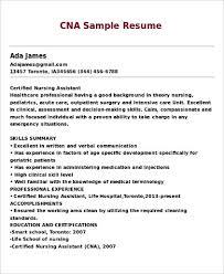 cna resume skills cna resume samples ckum ca