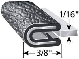 Trim - Flex <b>PVC Plastic</b> Edge Protector for Sharp and Rough ...