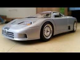 The eb110 gt is bugatti's first new model, marking the renaissance of the famous marque that dominated motor racing and design in the early 20th century. Bburago Bugatti 110eb 1 18 Youtube