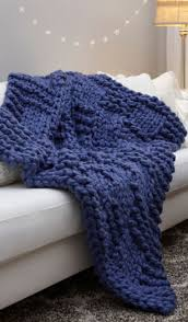 Chunky Knit Blanket Pattern Fascinating Basketweave Chunky Knit Blanket Pattern AllFreeKnitting