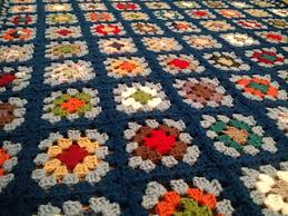 Granny Square Afghan Pattern