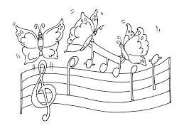 Dessin De Musique Design Concernant Note De Musique A Colorier