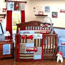 fire truck crib bedding photo 1 of 6 set firefighter for s baby fabric