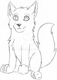 white wolf pup drawing. Beautiful Wolf Unfinished Wolf Pup By AsaRawr  On White Drawing E