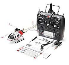 RONSHIN XK K123 6CH Brushless AS350 Scale ... - Amazon.com