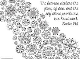 Small Picture Spring Bible Verse Coloring Pages 1111