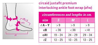 Medi Circaid Juxtafit Premium Interlocking Ankle Foot Wrap