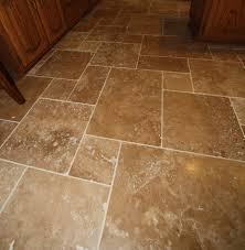 Image of: Travertine Tile Flooring