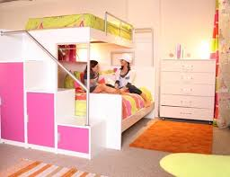 Cool Pink and Orange Bunk Beds for Teenage Girls - Tween/Teen Bunk Beds &