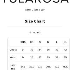 Tularosa Size Chart Tularosa Zoe Denim Dress Size Large