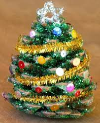 9 Easy Pinecone Projects  Yesterday On TuesdayPine Cone Christmas Tree Craft Project