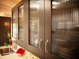 image of modern glass kitchen cabinet doors styles