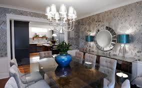 Contemporary Dining Room Ideas U0026 PhotosSilver And Blue Living Room