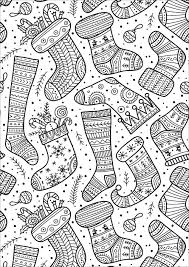 Stats on this coloring page. Cute Christmas Socks With Various And Happy Designs Christmas Coloring Pages Christmas Coloring Sheets Printable Christmas Coloring Pages