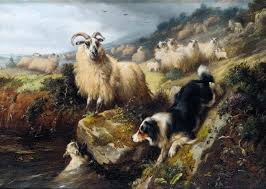walter hunt 1861 1941 the rescue things of beauty i like