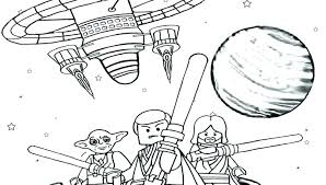 Lego Star Wars Yoda Coloring Pages Stars Wars Coloring Pages