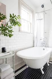 last week we shared some glimpses of our master bathroom pre rennovation and the inspiration that influenced our design decisions for the space