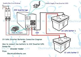 understanding circuit breaker panel wiring diagram for you • how to connect two batteries to inverter 24 volts ups 2 circuit breaker panel diagram circuit breaker box