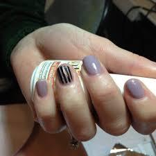 Harmony Gelish nail art – Princess Tiara and Black Shadow and ...