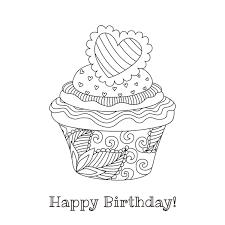 Our printable birthday color me cards are a great way for kids to send a homemade birthday card to friends and loved ones! 55 Best Happy Birthday Coloring Pages Free Printable Pdfs