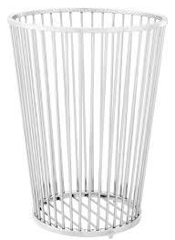 Casa Padrino Luxus Edelstahl Wäschekorb Silber ø 30 X H 405 Cm