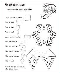 Printable Paper Snowflake Templates Free Snowflake Template