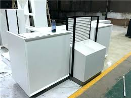 front office counter furniture. Hotel Front Desk Furniture Design Custom White Reception Cash . Office Counter