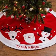 60 Natural Burlap Christmas Tree Skirt Red WhiteChristmas Tree Skirt Clearance