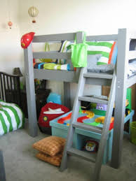 free woodworking plans to build a toddler sized low loft bunk bunk beds toddlers diy
