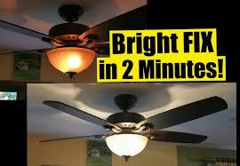 hunter ceiling fan light bulb wattage