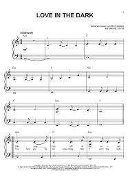 adele sheet music love in the dark piano sheet music onlinepianist