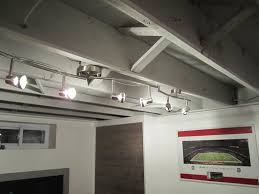 awesome creative basement lighting ideas lighting ceiling ideas also basement lighting basement track lighting